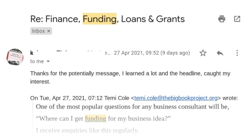 Agri Finance Funding Loans and Grants Email Newsletter