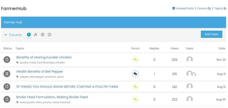 FarmersHub Poultry Farming Forum Nigeria