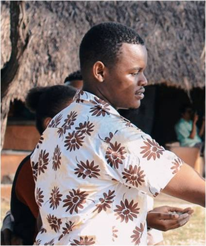 Fredrick a start up poultry farmer from Kenya