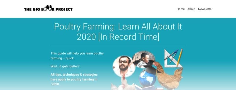 Learn Poultry Farming In Record Time Screenshot
