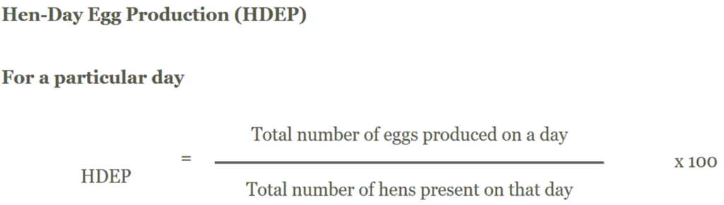 HDEP - Hen Day Egg Production