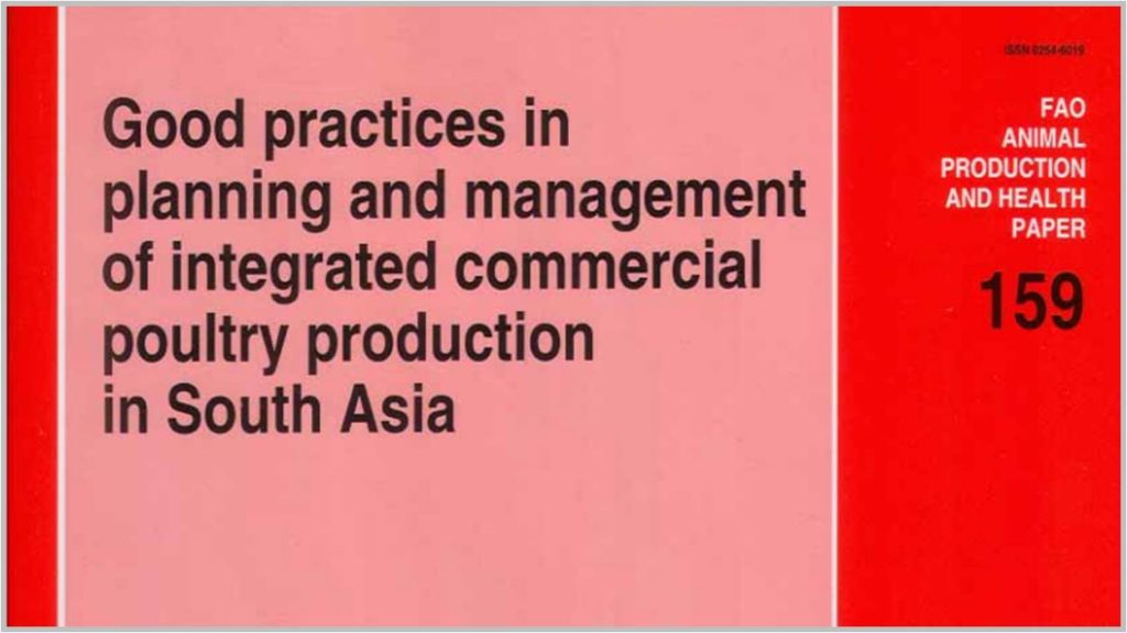 Good practices in planning and management of integrated commercial poultry production in South Asia - FAO