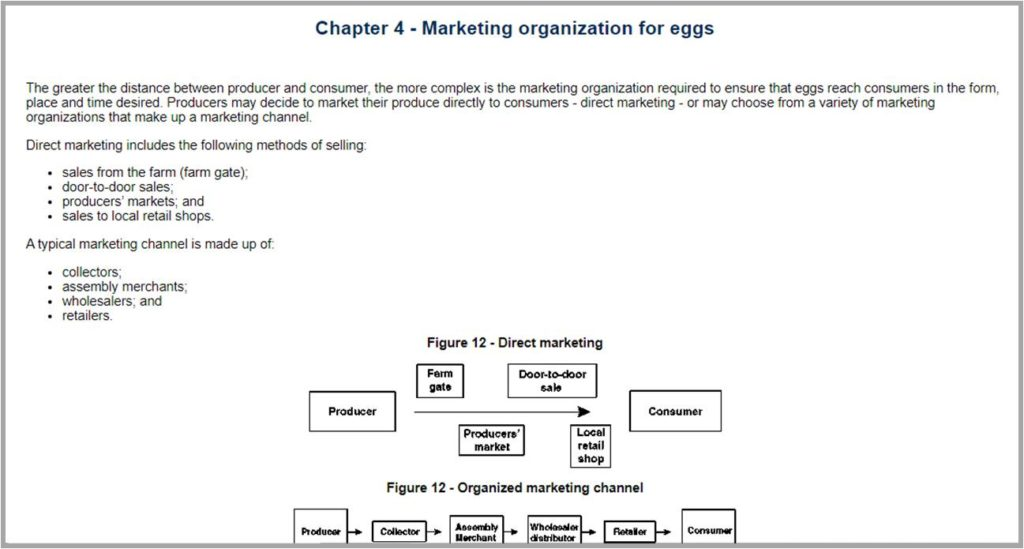 Marketing Organisation For Eggs