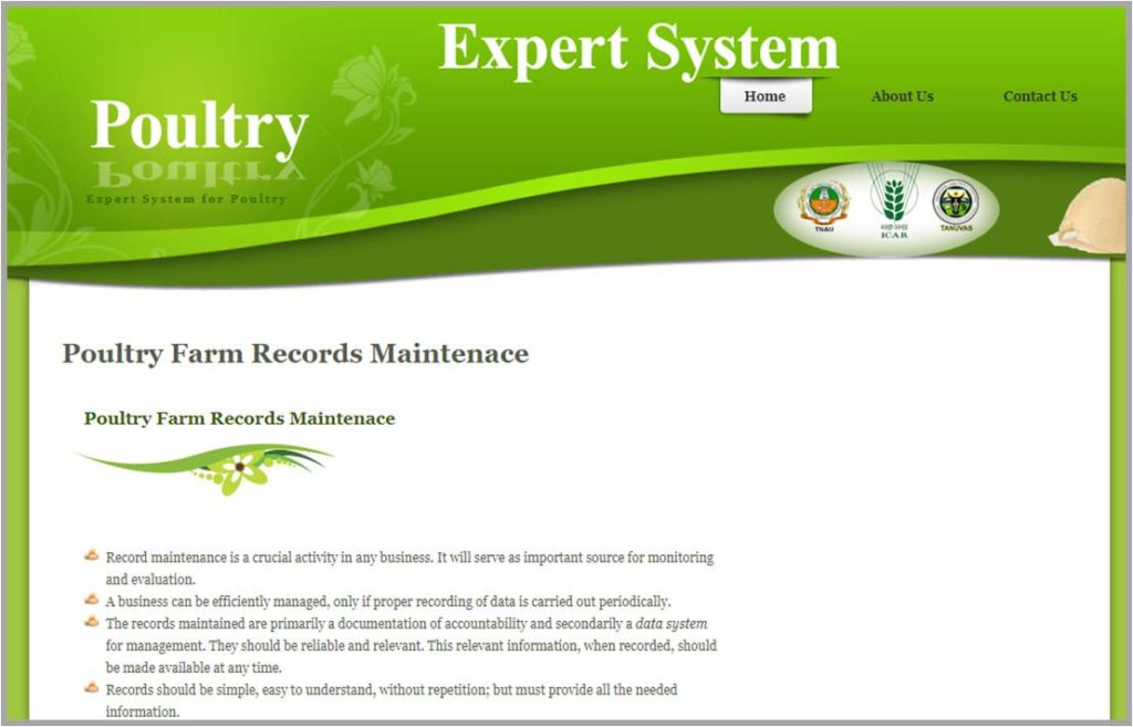 Poultry Farm Record Maintenance