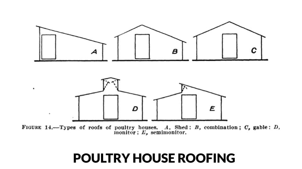 Poultry House Roof Diagrams