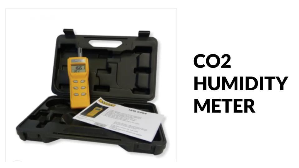 CO2 Humidity meter