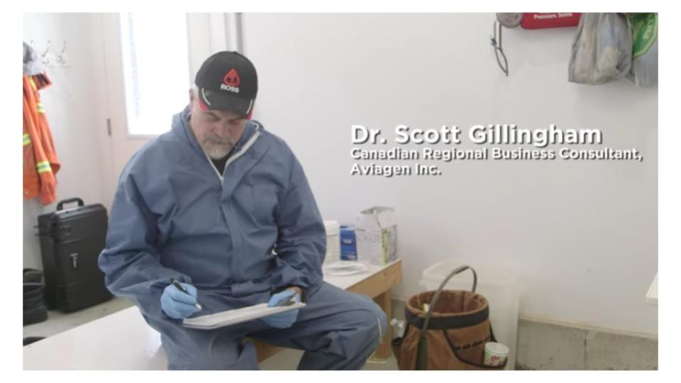 Dr. Scott Gillingham, Canadian Regional Business Consultant, Aviagen
