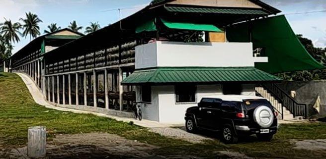Philippines Concrete Layer Hen House Design